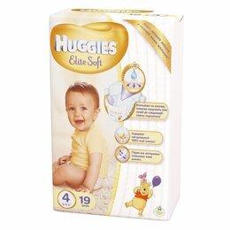 Подгузники - HUGGIES Elite Soft Подгузники 4 8-14 кг     СК40%, 0
