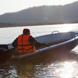 Моторные лодки и катера - Алюминиевая лодка Realcraft 370, 0