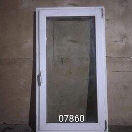 Готовые конструкции - Пластиковое окно (б/у) 1330(в)х740(ш), 0