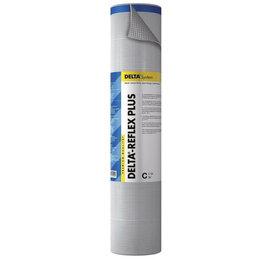 Изоляционные материалы - DELTA-REFLEX плeнка пароизоляционная с алюминиевым рефлексным слоем 1,5*50 м..., 0