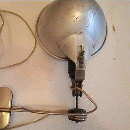 Переносные светильники - Советская лампа на прищепке, 0