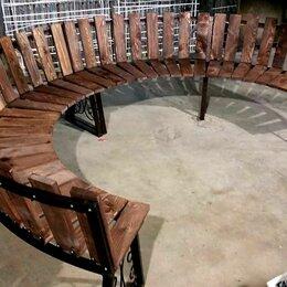 Скамейки - Скамейка полукруглая(радиусная), 0