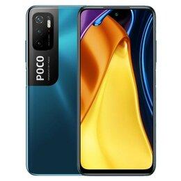 Мобильные телефоны - Смартфон Xiaomi Poco M3 Pro 5G 6/128Gb (синий), 0