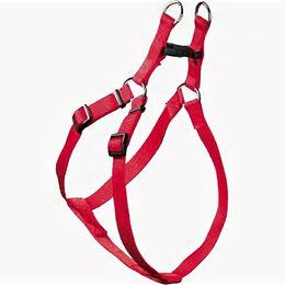 Шлейки  - HUNTER SMART шлейка для собак ECCO Квик S (33-45/35-49 см) нейлон красная , 0