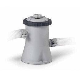 Фильтры, насосы и хлоргенераторы - Картриджный фильтр-насос для бассейнов Intex Krystal Clear, 0
