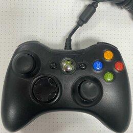 Рули, джойстики, геймпады - Геймпад проводной Xbox 360 б/у, 0
