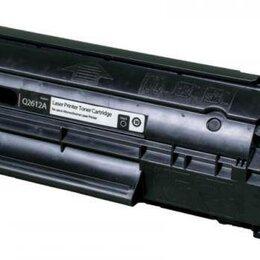 Картриджи - Картридж Q2612A чёрный (лазерная печать), 0