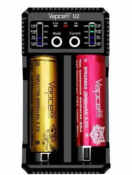 Зарядные устройства для стандартных аккумуляторов - Зарядное устройство Vapcell U2 Li-ion Ni-Mh…, 0