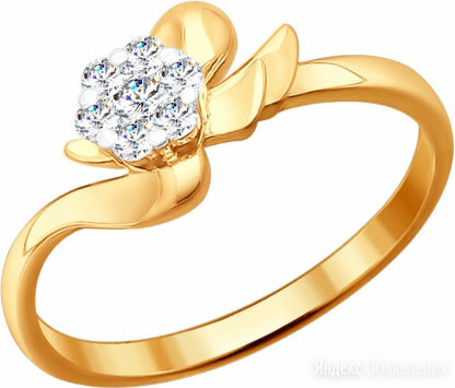Кольцо SOKOLOV 1010614_s_17-5 по цене 23580₽ - Кольца и перстни, фото 0