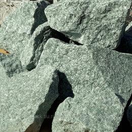 Камни для печей - Жадеит колотый Хакасия средний, упаковка 10 кг, 0