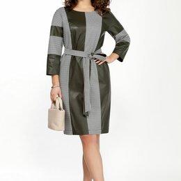 Платья - Платье 2043 TEZA хаки Модель: 2043, 0