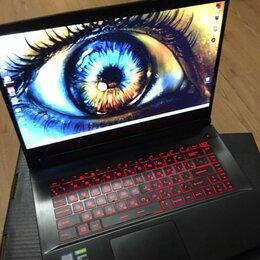 Ноутбуки - Новый игровой ноутбук MSI 15.6IPS120Hz/16Gb/512SSD/GTX1650, 0