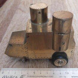 Другое - броневик Ленина,бронза,монолит бронзы, вес 1570 гр, 0