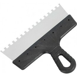 Шпатели - Шпатель зубчатый MASTER COLOR 30-2338 150 мм зуб 10х10 мм , 0