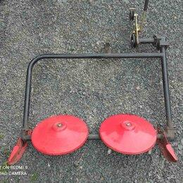 Навесное оборудование - Косилка роторная 2х дисковая для мотоблока нева, 0