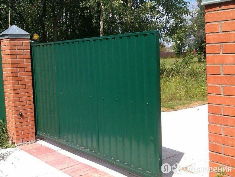 Откатные ворота по цене 57500₽ - Входные двери, фото 0
