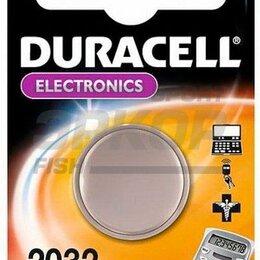 Батарейки - Элемент питания Duracell литиевая 3V 2032 BP-1, 0