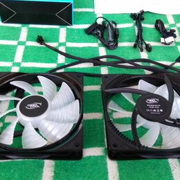 Кулеры и системы охлаждения - Кулера Deepcool RF140 (RGB) комплект 2шт, 0