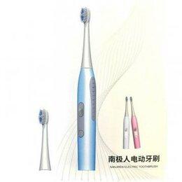 Электрические зубные щетки - Электрическая зубная щетка Nanjiren Electric Toothbrush, голубой, 0