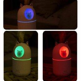 Очистители и увлажнители воздуха - Увлажнитель воздуха и ночник Humidifier - кот, 0