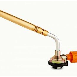 Туристические горелки и плитки - ON Горелка газовая, цанговый захват, узкое удлиненное сопло из латуни, 19,5х4..., 0
