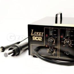 Электрические паяльники - Термовоздушная паяльная станция Lukey 902, 0