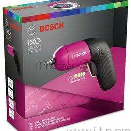 Аккумуляторные отвертки - Отвертка электрическая Bosch Ixo Vi Colour аккум. патрон:Шестигранник 6.35 мм..., 0