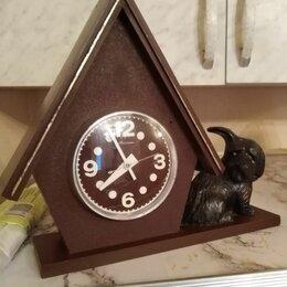 Часы настольные и каминные - Часы Маяк, механика, 0