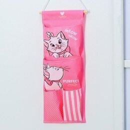 Туалетная бумага и полотенца - Кармашки вертикальные настенные Purfect, Коты аристократы, 0