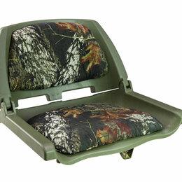 Походная мебель - Кресло складное мягкое TRAVELER, обивка камуфляжная ткань BREAK UP, 0