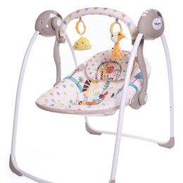 Качели, шезлонги - Электрокачели baby care riva с адаптером, 0