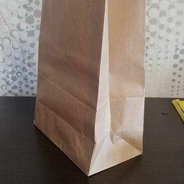Упаковочные материалы - Пакет крафт прямоугольное дно, 0