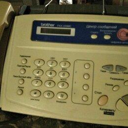 Факсы - Факс с цифровым автоответчиком Brother FAX-335MC, 0