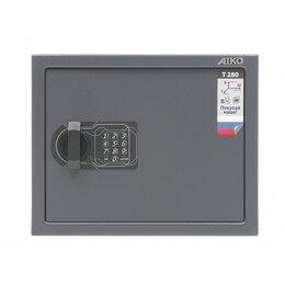 Сейфы - Сейф AIKO T-280 EL мебельный, 0