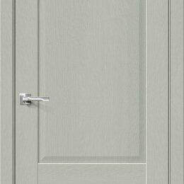 Входные двери - Межкомнатная дверь с экошпоном Прима-12 Grey Wood, 0