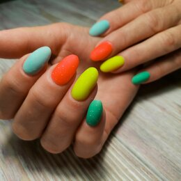 Наращивание ногтей - Маникюр с наращиванием ногтей, 0