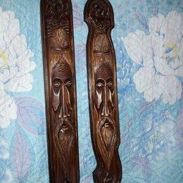 Сувениры - Художественная резьба по дереву.Маска старец дедушка., 0