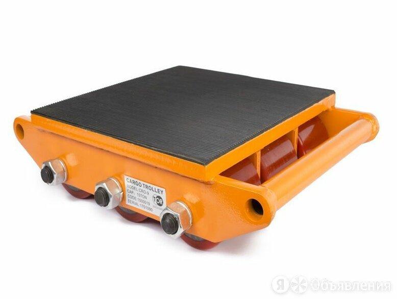 Роликовая платформа подкатная TOR CRO-9 г/п 15 т (N) (без ручки) по цене 13696₽ - Принадлежности и запчасти для станков, фото 0