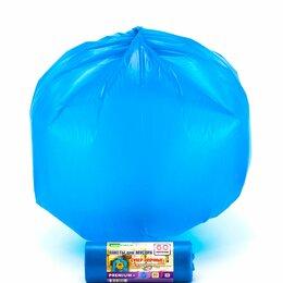 Мешки для мусора - Мешки для мусора mirpack premium+ супер прочные 60 л 20 км синие, 0