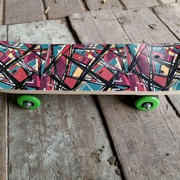 Скейтборды и лонгборды - Детский скейтборд, 0
