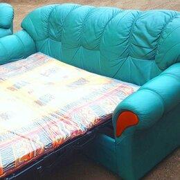Диваны и кушетки - Кожаный диван кровать Roma Pohjanmaan, 0