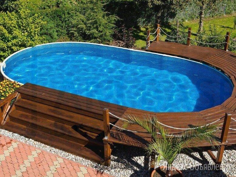Каркасный бассейн ЛАГУНА 5 х 2,5 х 1,25 м овальный  по цене 46900₽ - Бассейны, фото 0