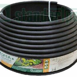 Заборчики, сетки и бордюрные ленты - Standartpark Бордюр KANTA пластиковый черный Standartpark Б-1000,10,02, 0