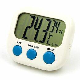 Метеостанции, термометры, барометры - Термометр электронный  комнатный CX-202 1/сто, 0