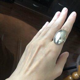 Кольца и перстни - Кольцо серебряное большое , 0