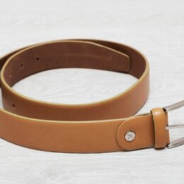 Ремни и пояса - Кожаный ремень Навигатор 30, 0