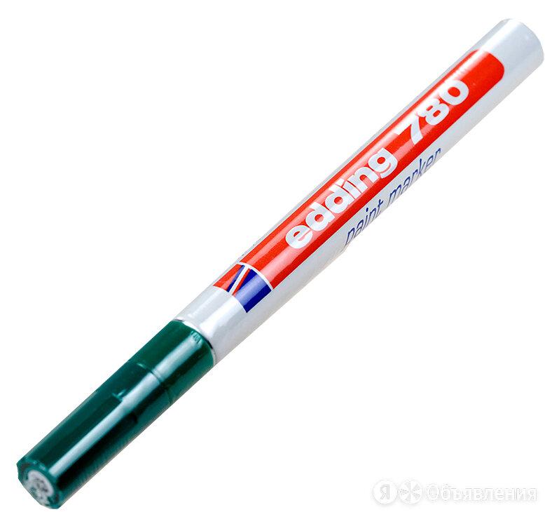 Маркер для печатных плат EDDING 780, d=0,8 mm (зеленый) по цене 350₽ - Канцелярские принадлежности, фото 0
