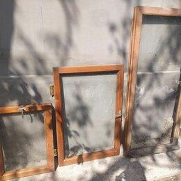 Окна - Деревянная рама оконная б/у , 0