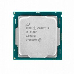 Процессоры (CPU) - Процессор Intel Core i3-9100F, 0