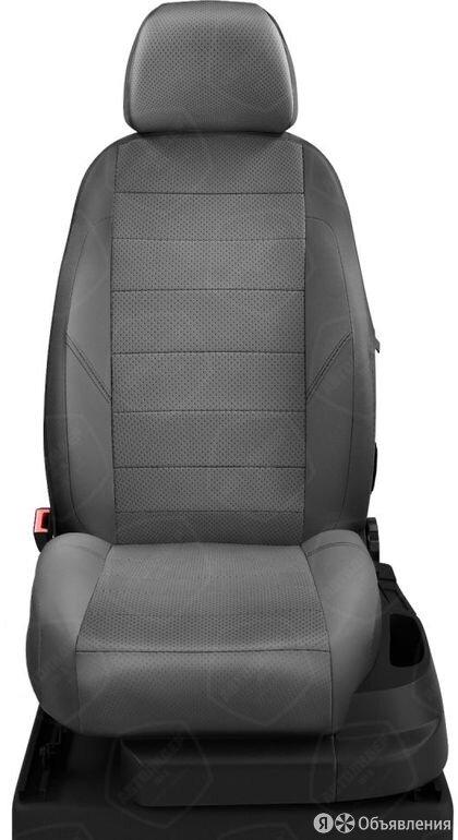 Чехлы на сидения Ford Transit 2015 2020 Темно-серый (арт.FD13-1003-EC20) по цене 5270₽ - Аксессуары для салона, фото 0